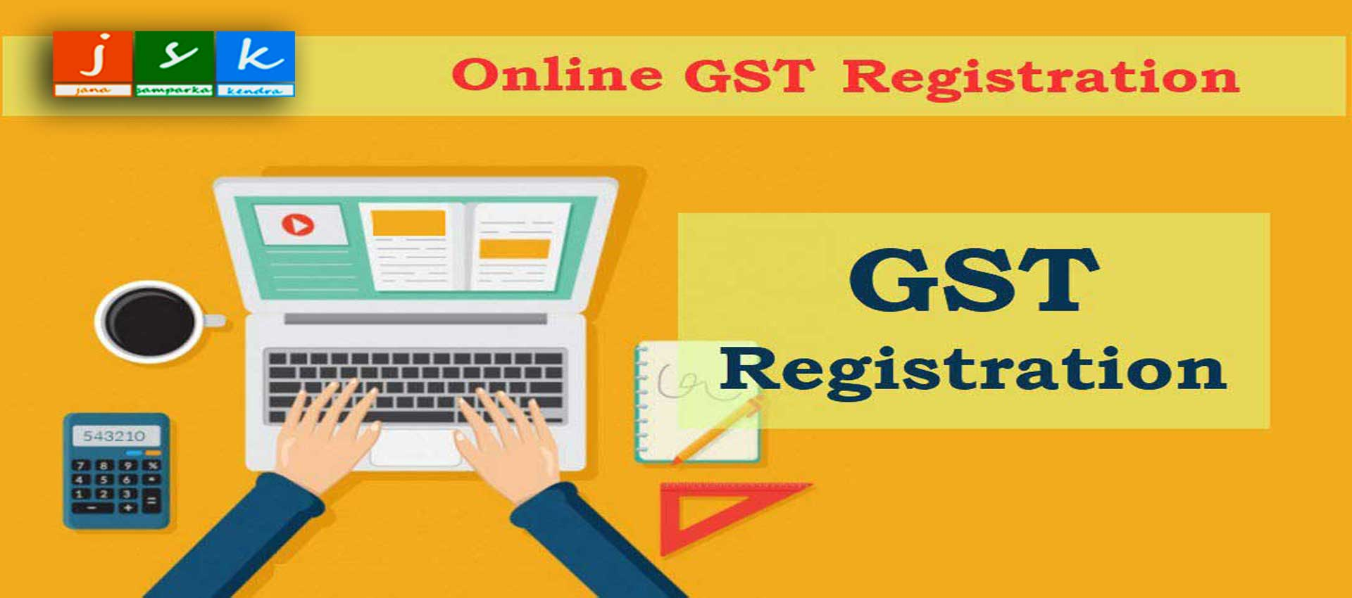 JSK GST REGISTRATION